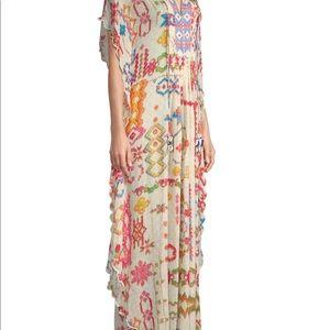 Hemant and Nandita Mosaic Caftan Dress
